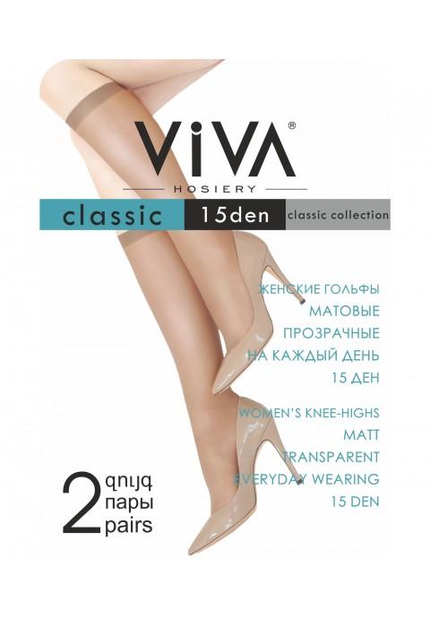 Viva Classic 15 Den Կանացի կիսագուլպա