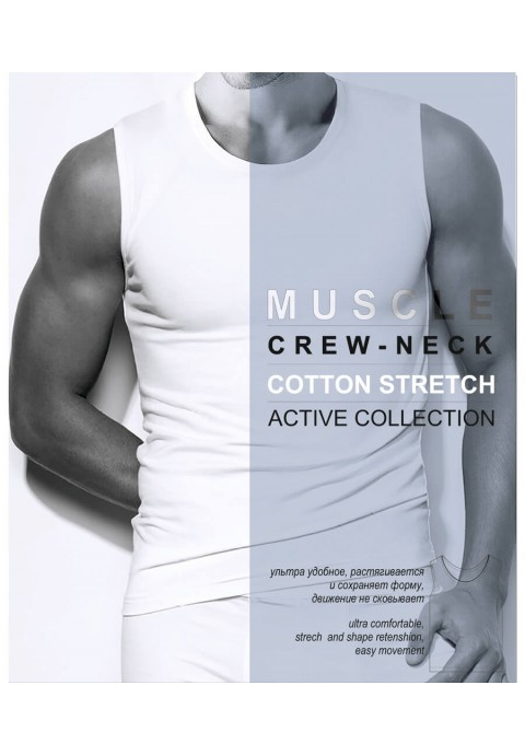 Danni Muscle Crew-Neck Տղամարդու ներքնաշապիկ
