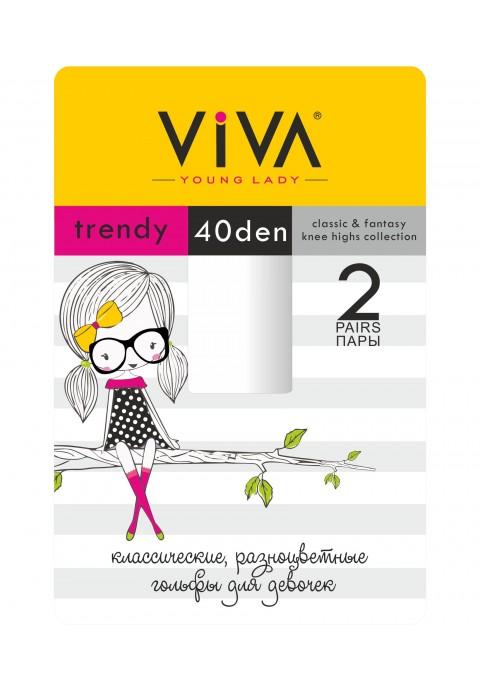 Viva Trendy 40 Den Մանկական կիսագուլպա